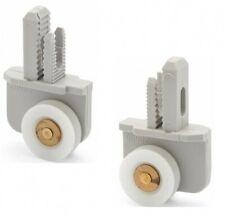 2 x Single Shower Roller/Runner 19mm Wheel Diameter Left and Right LUX13