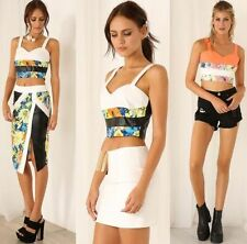 Hand-wash Only Floral Sleeveless Tops for Women
