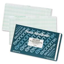 Ekonomik Check Register Triple Function Distr./Expense/Credit