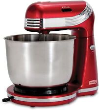 ELECTRIC STAND MIXER 6 SPEED KITCHEN MIX BEATER TILT HEAD STAINLESS STEEL BOWL