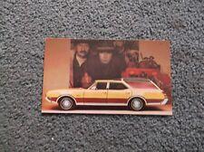 1969 Oldsmobile postcard