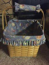 Longaberger Grandma Bonnie's Two Pie Basket Combo