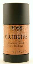 (prezzo base 66,53 €/100ml) Hugo Boss Elements 75ml Deodorante Stick Nuovo OVP