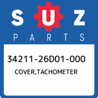 34211-26D01-000 Suzuki Cover,tachometer 3421126D01000, New Genuine OEM Part