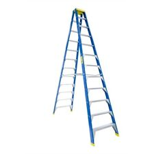 Bailey Professional Punchlock Fibreglass Double Sided Step Ladder 12ft 3.6m
