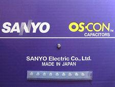 10pcs Oscon Sanyo SMD OS-CON 33µF/16V