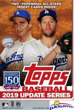 2019 Topps UPDATE Baseball EXCLUSIVE HUGE 67 Card Factory Sealed HANGER Box! HOT