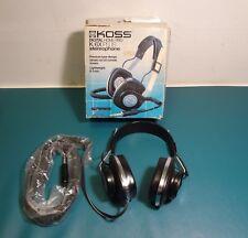 New In Box Vintage RARE Koss K/6X Plus Digital Ready Headphones