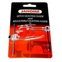 Janome Ditch Quilting Guide -- and -- Adjustable Quilting Guide
