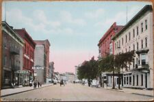 Kalamazoo, MI 1910 Postcard: East Main Street / Downtown - Michigan Mich