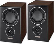 Mission LX-2 - LX Series Bookshelf Speakers LX2 Walnut Pearl - Brand New Pair