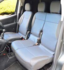 Peugeot Partner / Citroen Berlingo Tailored Fabric Seat Covers 2nd Gen 2008+