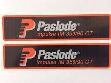Paslode IM350 Stickers (x2)
