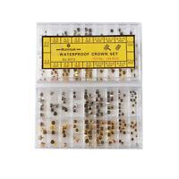 Accessoires de montre Longue et courte Tube Mixte Montre étanche Couronne Copper