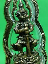 THAI BUDDHA AMULET THAO WESSUWAN KING OF GHOST POWER PROTECT TALISMAN PENDANT