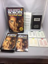 ISAAC ASIMOV'S ROBOTS VCR MYSTERY GAME Kodak VHS Very Good Complete And Rare!!