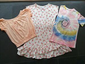 Girl's size 12 Target/Mini Mango Summer Dress And T-shirts Bundle. BNWT