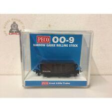 More details for peco gr-201u open wagon brown unlettered - 009 gauge