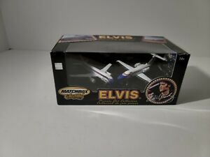 2003 Matchbox collectables  Elvis Presley Private Jet Collection-2 Planes (NEW)