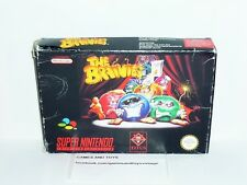 JEU SUPER NINTENDO COMPLET EN BOITE THE BRAINIES