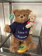 Bearington Bear Collection. I Love My Grandpa Shirt Bear Holding His Grandchild