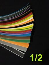 "1/2 ""  12.7mm   ASSORTED*12* COLORS  2:1 heat shrink tubing polyolefin (12 FOOT)"