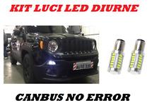 LUCI DIURNE LED P21W/5W DOPPIO FILAMENTO JEEP RENEGADE CANBUS NO ERROR