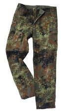 Original German Army Flecktarn Trousers - Camo Surplus Military Pants Grade 1