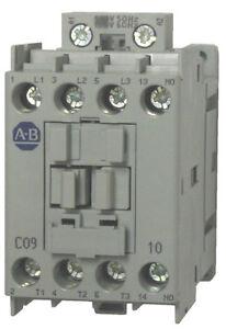 Allen Bradley 100-C09KJ10 9 AMP 3 Pole Contactor with a 24 volt AC coil