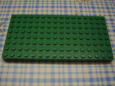 Lego Brick 8x16 4204 grün green Platte 10187 4167 9279 9605 1034 6089 9609 3421