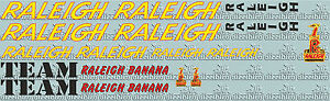 Raleigh Banana team issue (digital) - perfect for re-sprays