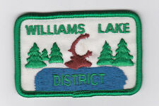 SCOUT OF CANADA - CANADIAN SCOUTS BRITISH COLUMBIA (BC) WILLIAMS LAKE Patch
