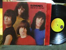 SIRE SRK6077 RAMONES END OF THE CENTURY RECORD LP '80 oop rare vinyl orig w/lyri