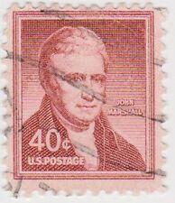 (USB47)1954 USA 40c lake John Marshall ow1050