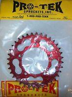 Pro tek Rear Sprocket 520 Pitch Ducati 1988 1989 851 SP 36T Red