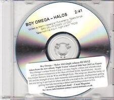 (DH594) Boy Omega, Halos - 2012 DJ CD