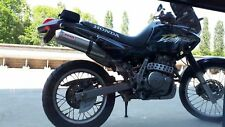 Honda Dominator Nx 650 1988/01 2-1 Escape Harris funciona resbalón en el camino legal