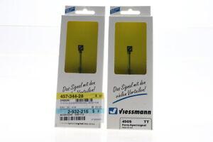 TT Viessmann 2x 4909 Form-Sperrsignal Konvolut form lock signal OVP/J48
