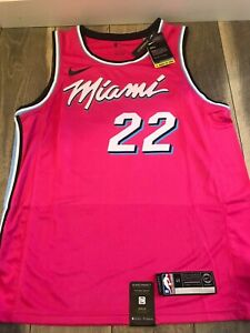 NBA Miami Heat #22 Butler Swingman Jersey - Earned Edition