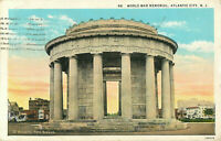 Postcard World War Memorial, Atlantic City, NJ
