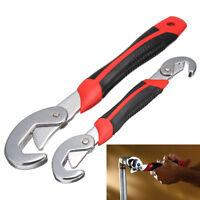 2-tlg Multi Schlüssel Schraubenschlüssel Ring Maul Multitool Werkzeug Ratsche