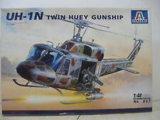 Italeri 1/48 Bell Uh-1N Twin Huey Gunship Helicopter #847