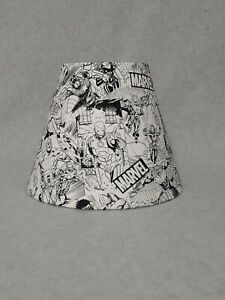 Marvel Lamp Shade.  Sketch Design