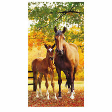 Mare & Foal Beach Towel