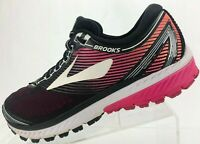 Brooks Ghost 10 Running Shoes Black Training Athletic Sneakers Womens US 9.5 B