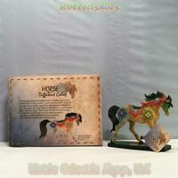 02,346 Horse Of A Different Color NEW Resin Figurine,Box,Tag. MOROCCAN MOSAIC
