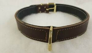 Plain Leather Dog Collar 1inch{25mm} and 1 1/4{32mm}