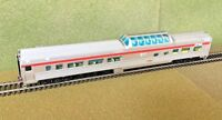 RAPIDO 1/87 HO C.P. RAIL ACTION RED BUDD MID-TRAIN DOME CAR # 516  # 1160021 F/S