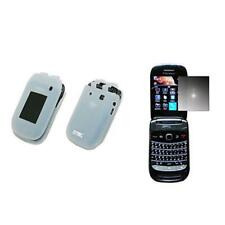 for BlackBerry Style Clear Silicone Case+M SP