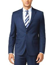 $559 MICHAEL KORS men BLUE FIT 2 BUTTON SUIT JACKET BLAZER SPORT COAT 42 R